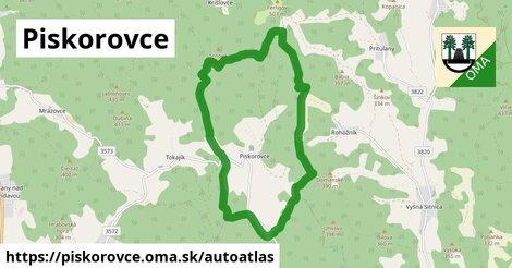 ikona Mapa autoatlas  piskorovce