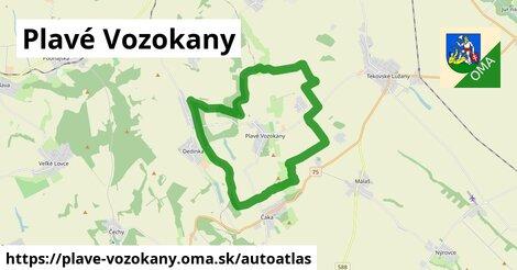 ikona Mapa autoatlas  plave-vozokany