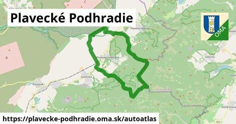 ikona Mapa autoatlas  plavecke-podhradie