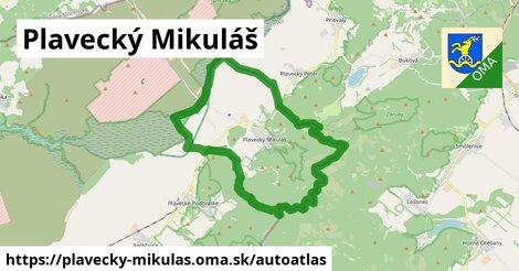 ikona Mapa autoatlas  plavecky-mikulas