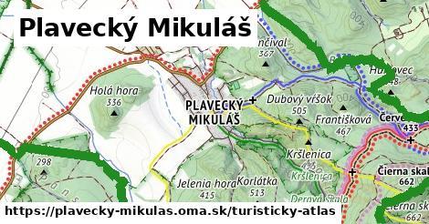ikona Plavecký Mikuláš: 45km trás turisticky-atlas  plavecky-mikulas