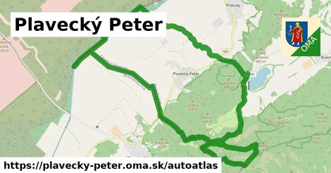 ikona Mapa autoatlas  plavecky-peter