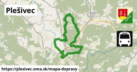 ikona Mapa dopravy mapa-dopravy  plesivec