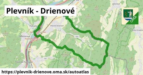 ikona Mapa autoatlas  plevnik-drienove