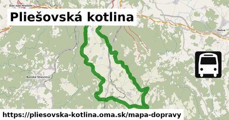 ikona Mapa dopravy mapa-dopravy  pliesovska-kotlina