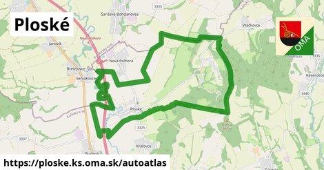 ikona Mapa autoatlas  ploske.ks