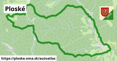 ikona Mapa autoatlas  ploske