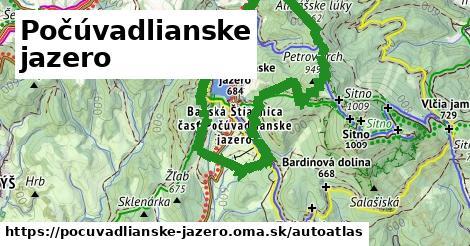ikona Mapa autoatlas  pocuvadlianske-jazero
