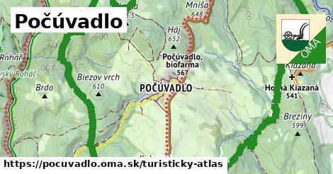 ikona Turistická mapa turisticky-atlas v pocuvadlo