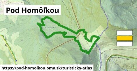 ikona Turistická mapa turisticky-atlas  pod-homolkou