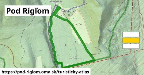 ikona Turistická mapa turisticky-atlas  pod-riglom