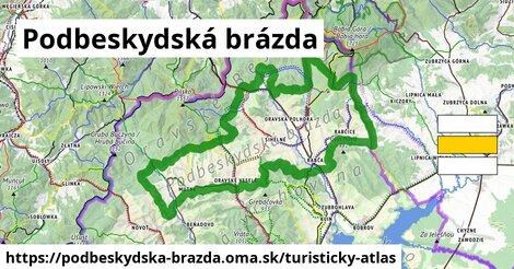 ikona Turistická mapa turisticky-atlas  podbeskydska-brazda