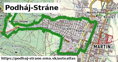 ikona Mapa autoatlas  podhaj-strane