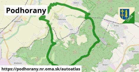 ikona Mapa autoatlas  podhorany.nr