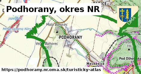 ikona Turistická mapa turisticky-atlas  podhorany.nr