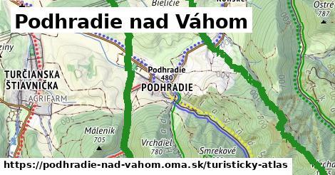 ikona Turistická mapa turisticky-atlas  podhradie-nad-vahom