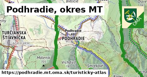 ikona Turistická mapa turisticky-atlas  podhradie.mt