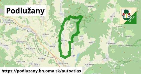 ikona Mapa autoatlas  podluzany.bn