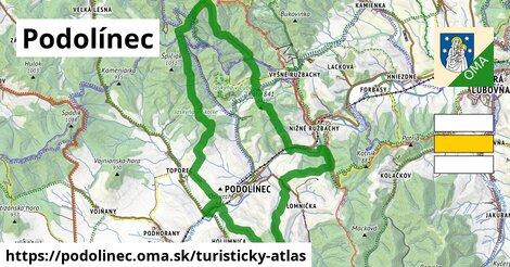 ikona Turistická mapa turisticky-atlas  podolinec