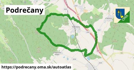ikona Mapa autoatlas  podrecany