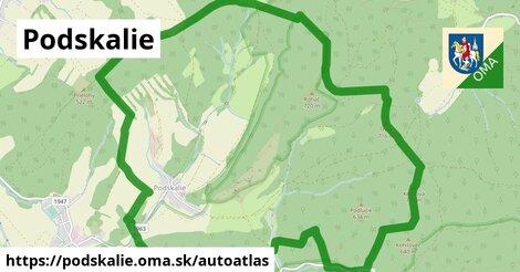 ikona Mapa autoatlas  podskalie