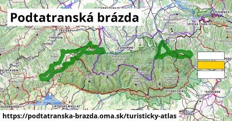 ikona Turistická mapa turisticky-atlas  podtatranska-brazda