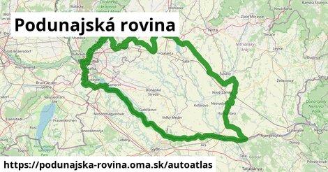 ikona Mapa autoatlas  podunajska-rovina