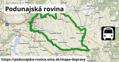 ikona Mapa dopravy mapa-dopravy  podunajska-rovina