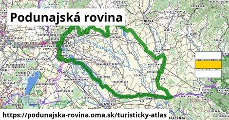 ikona Turistická mapa turisticky-atlas  podunajska-rovina