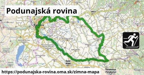 ikona Zimná mapa zimna-mapa  podunajska-rovina
