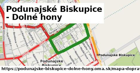 ikona Mapa dopravy mapa-dopravy v podunajske-biskupice-dolne-hony