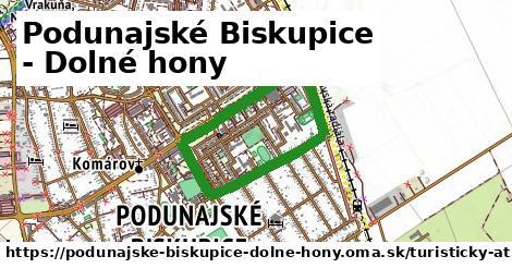 Podunajské Biskupice - Dolné hony