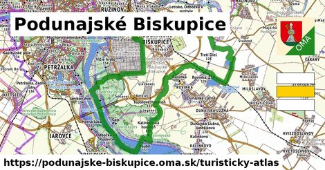 ikona Turistická mapa turisticky-atlas  podunajske-biskupice