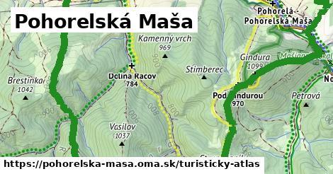 ikona Pohorelská Maša: 5,9km trás turisticky-atlas  pohorelska-masa