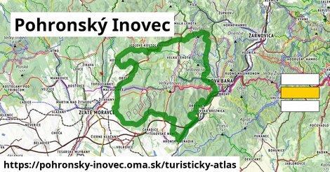 ikona Turistická mapa turisticky-atlas  pohronsky-inovec