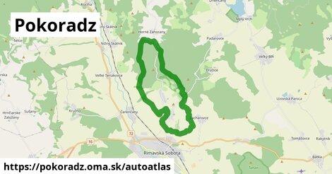 ikona Mapa autoatlas  pokoradz