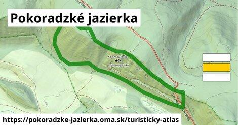 ikona Turistická mapa turisticky-atlas  pokoradzke-jazierka