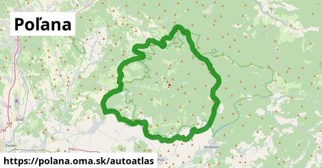 ikona Mapa autoatlas  polana
