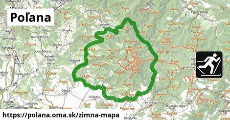 ikona Zimná mapa zimna-mapa  polana
