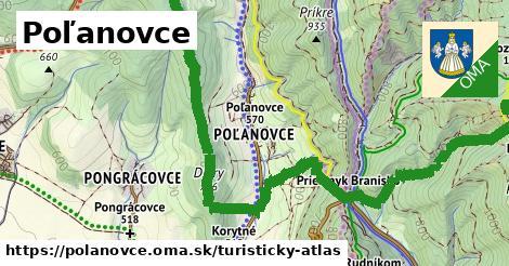 ikona Turistická mapa turisticky-atlas  polanovce