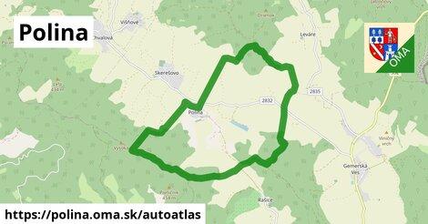 ikona Mapa autoatlas  polina