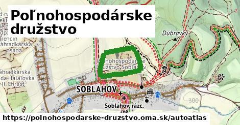 ikona Mapa autoatlas  polnohospodarske-druzstvo