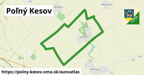 ikona Mapa autoatlas  polny-kesov
