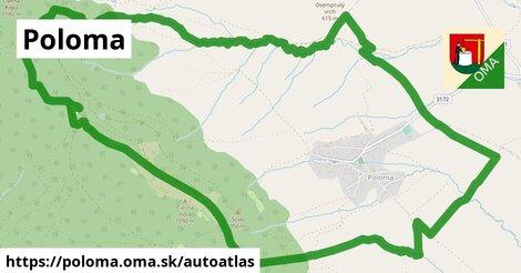 ikona Mapa autoatlas  poloma