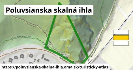 ikona Turistická mapa turisticky-atlas  poluvsianska-skalna-ihla