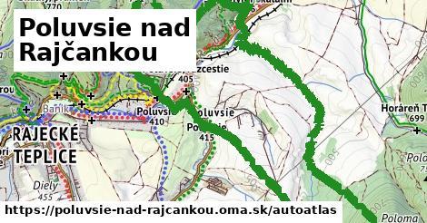 ikona Mapa autoatlas  poluvsie-nad-rajcankou