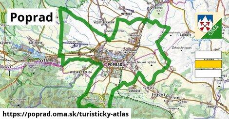 ikona Turistická mapa turisticky-atlas  poprad