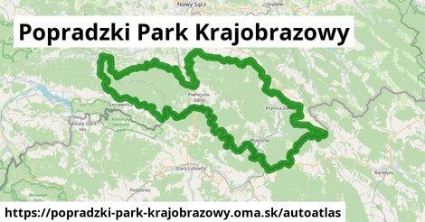 ikona Mapa autoatlas  popradzki-park-krajobrazowy