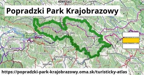 ikona Turistická mapa turisticky-atlas  popradzki-park-krajobrazowy