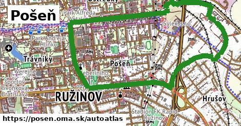 ikona Mapa autoatlas  posen